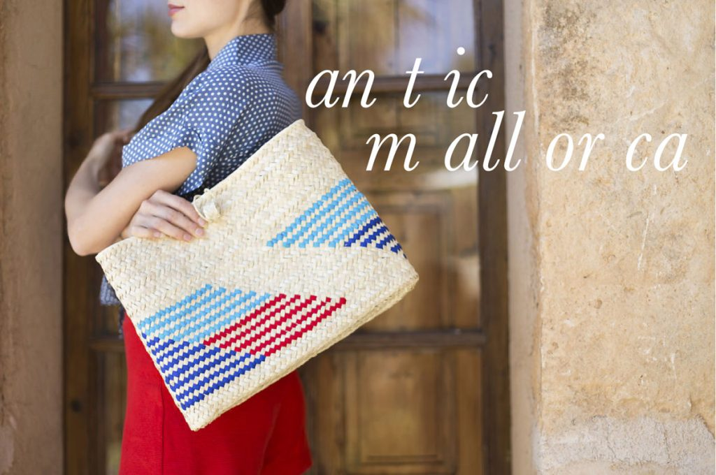 Handgeflochtene Taschen aus Palmblättern - Antic Mallorca