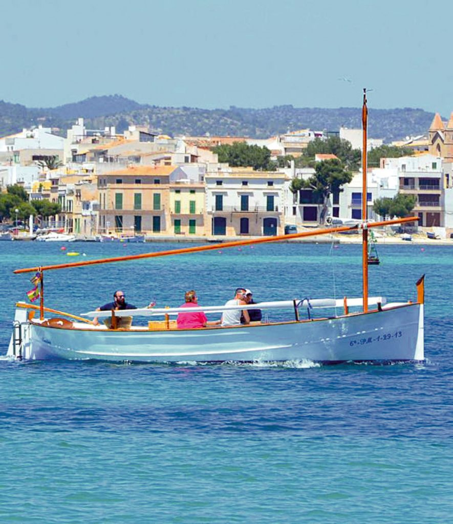 experience islandlife boattrip llaut lifestyle original classic boat alternative ship lunch explore trip sea beach swim shell blue mediterranean planning dreams mallorca small athentic nachhaltig holiday geheimtipp alternative fairtrade secret local majorca sustainable individual celebration gifts surprise wood withlove
