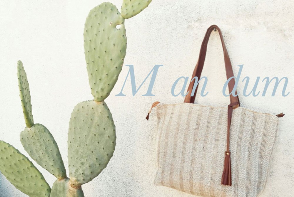 mandum bags mallorca textiles design made in spain