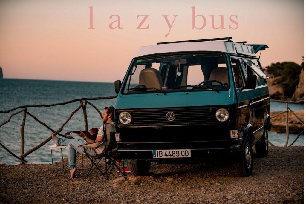 Rent a vintage VW Campervan - Lazy Bus