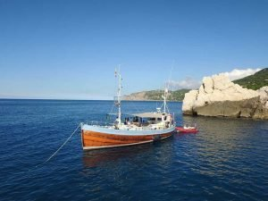 Bonnie Lass vintage charter boat Soller
