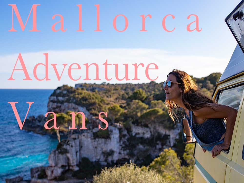 Mallorca adventure vans rental