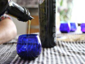 Olivenöl Verkostung auf Bio Finca can Feliu Mallorca