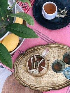 sano healthy harvest olivenernte organic olive leaf tea mallorca infusion hojas olivo olivenblatt tee bio eco latte dosalquemistas