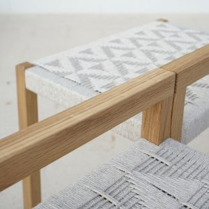 pattern craft natural stool artisan studio jaia furniture design mallorca palma chair interior maker lokal local handmade weaver weaving sustainable