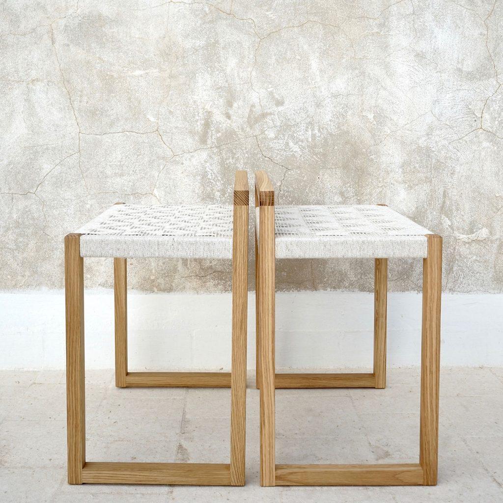 beauty pattern craft natural stool artisan studio jaia furniture design mallorca palma chair interior maker lokal local handmade weaver weaving sustainable