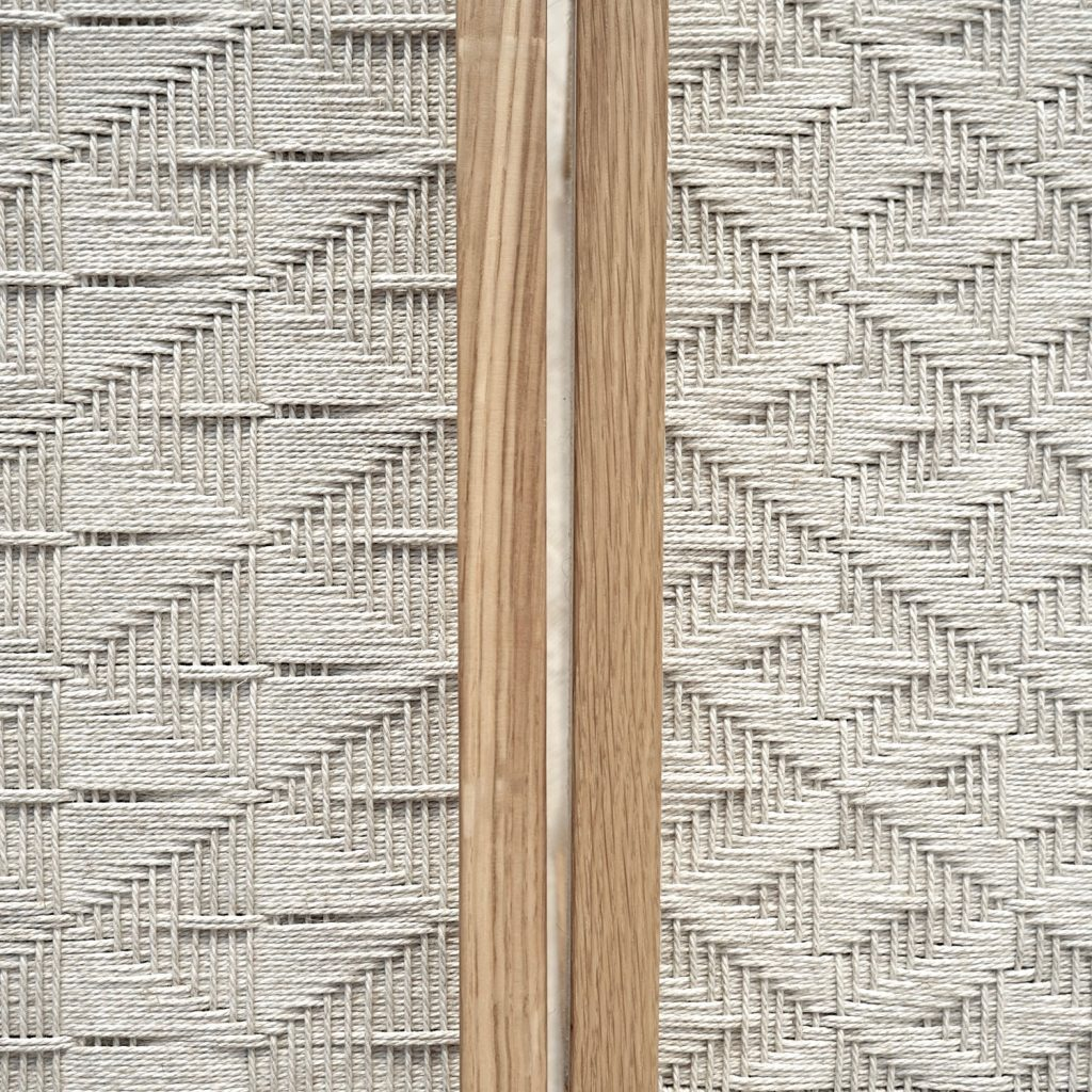 elegant beauty pattern craft natural stool artisan studio jaia furniture design mallorca palma chair interior maker lokal local handmade weaver weaving sustainable