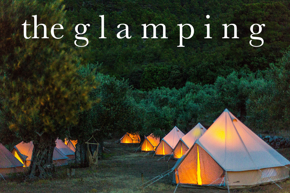 Glamping deluxe on Mallorca