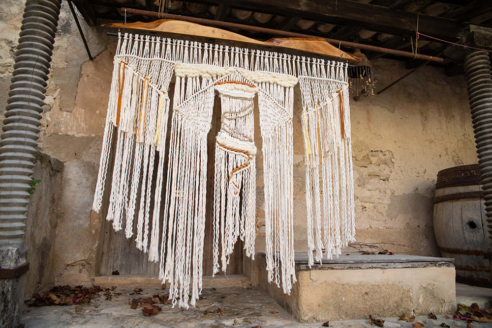 mallorca.macrame.wall.hanging.decoration.interior.handmade.casas.fincas.vintage