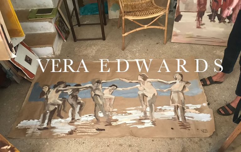 Studio visit and talk with painter Vera Edwards