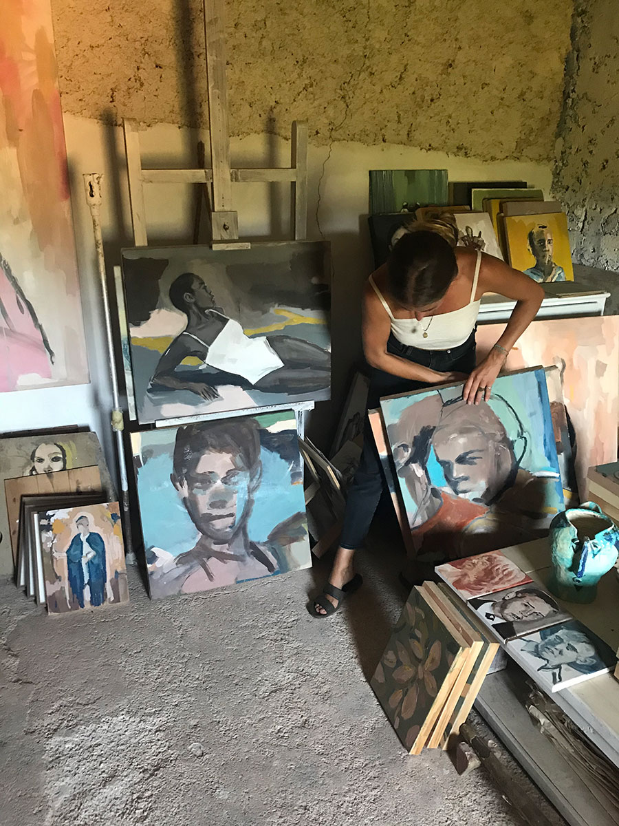 title.vera.edwards.artist.mallorca.painter.oil.canvas.africa
