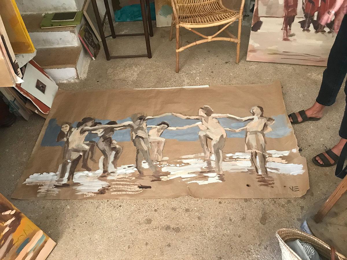 vera.edwards.artist.mallorca.painter.oil.canvas.dance