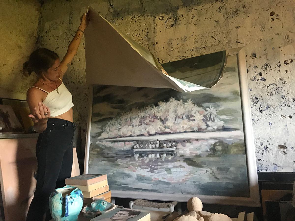 vera.edwards.artist.mallorca.painter.oil.canvas.island