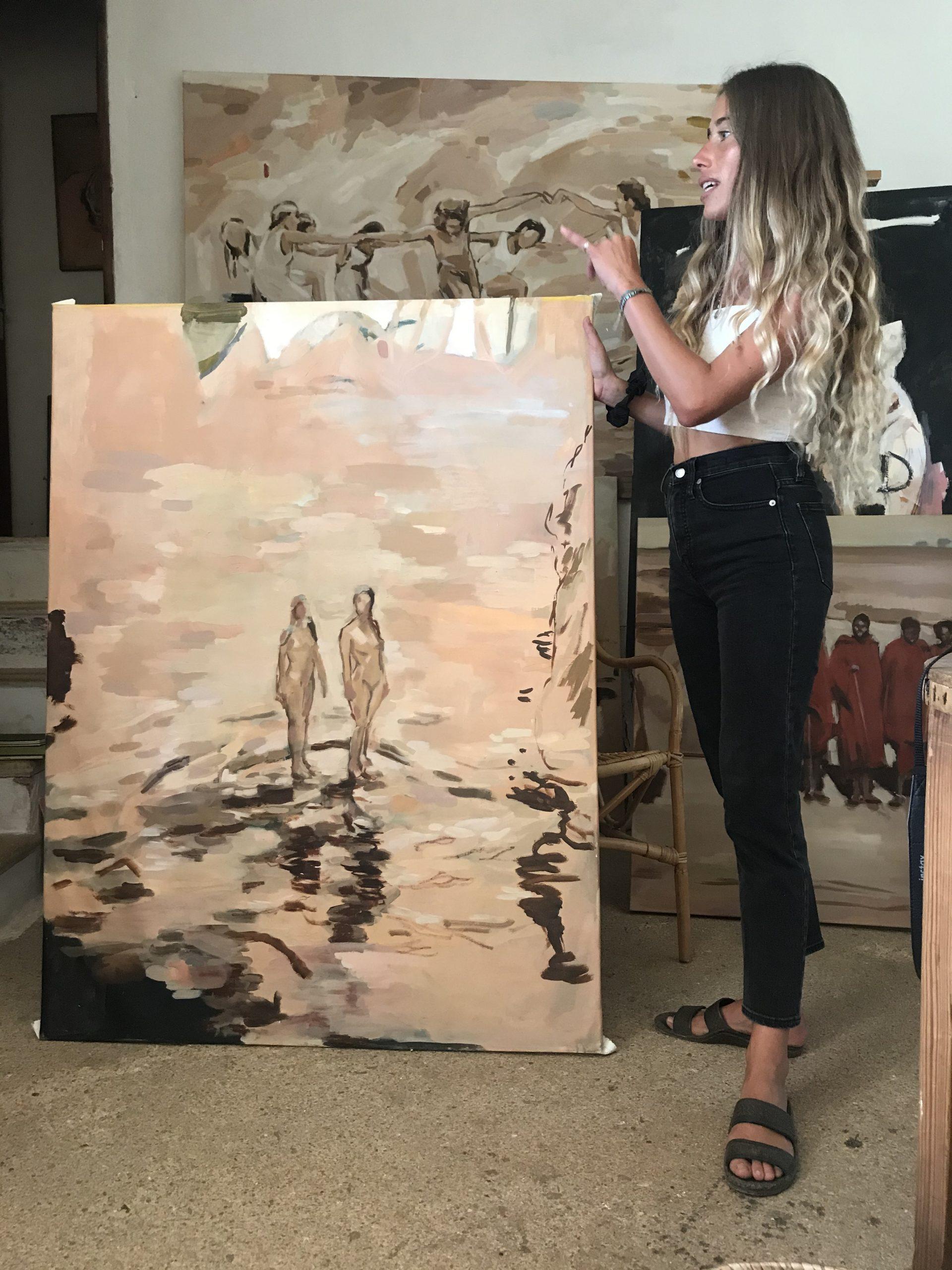 vera.edwards.art.artist.mallorca.thxagain.painter.mallorca.poil.canvas