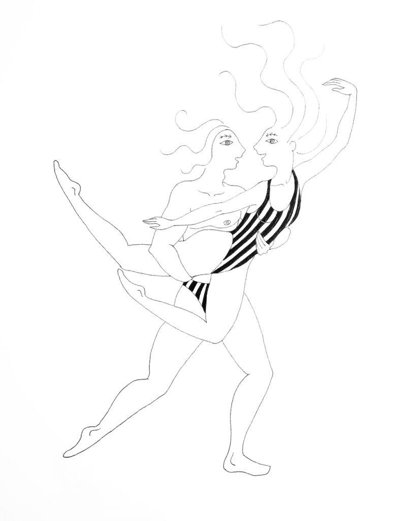 alexis.ceball.artista.mallorca.ilustraciones.entrevista.baile