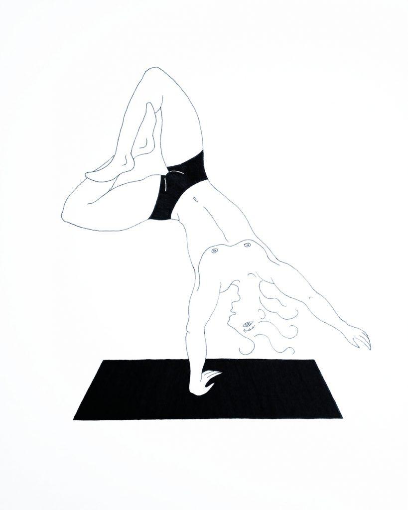 alexis.ceball.artista.mallorca.ilustraciones.entrevista.yoga,painter