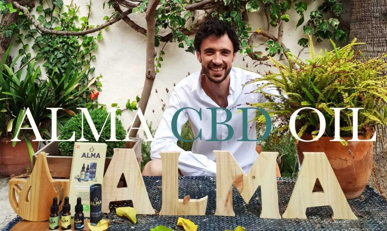 ALMA CBD oil with the benefits of the olives in Mallorca