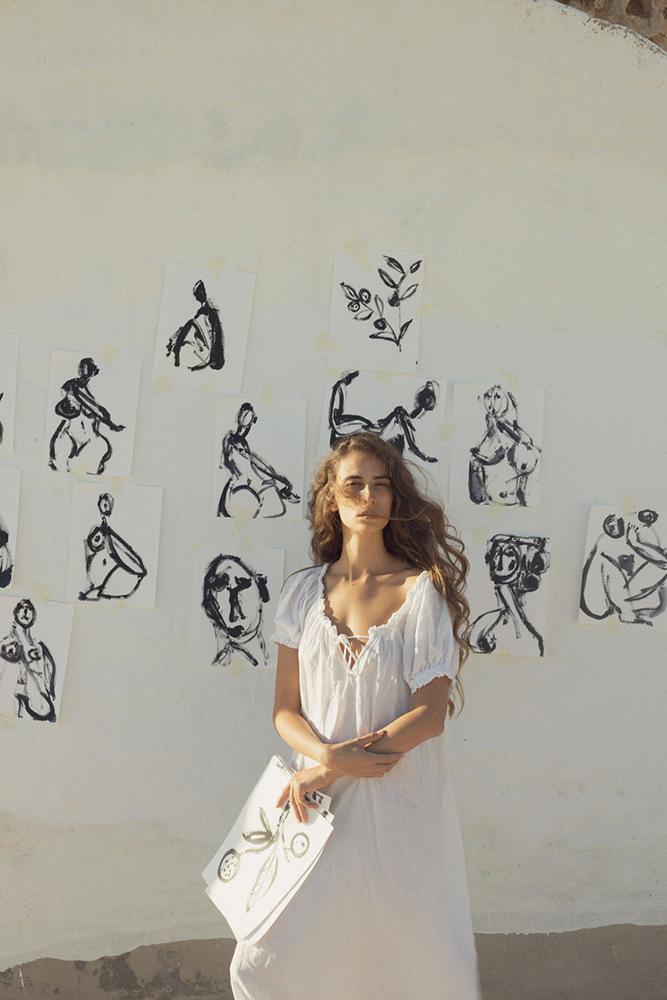 art.mallorca.artist.anna.alexandra.painter.ceramic.mask.mallorcalma.lily.sielaff.creative.creativity.body.model